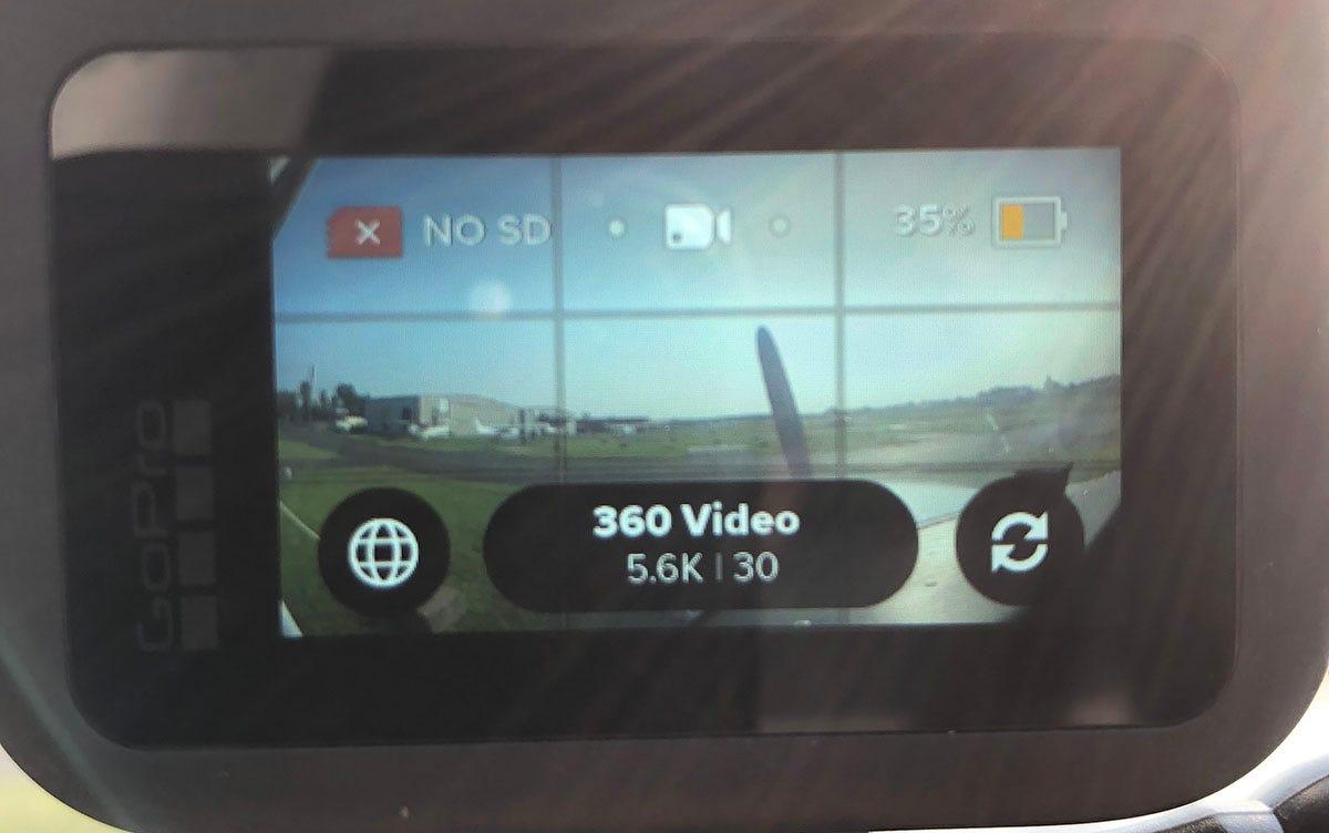 GoPro MAX setting