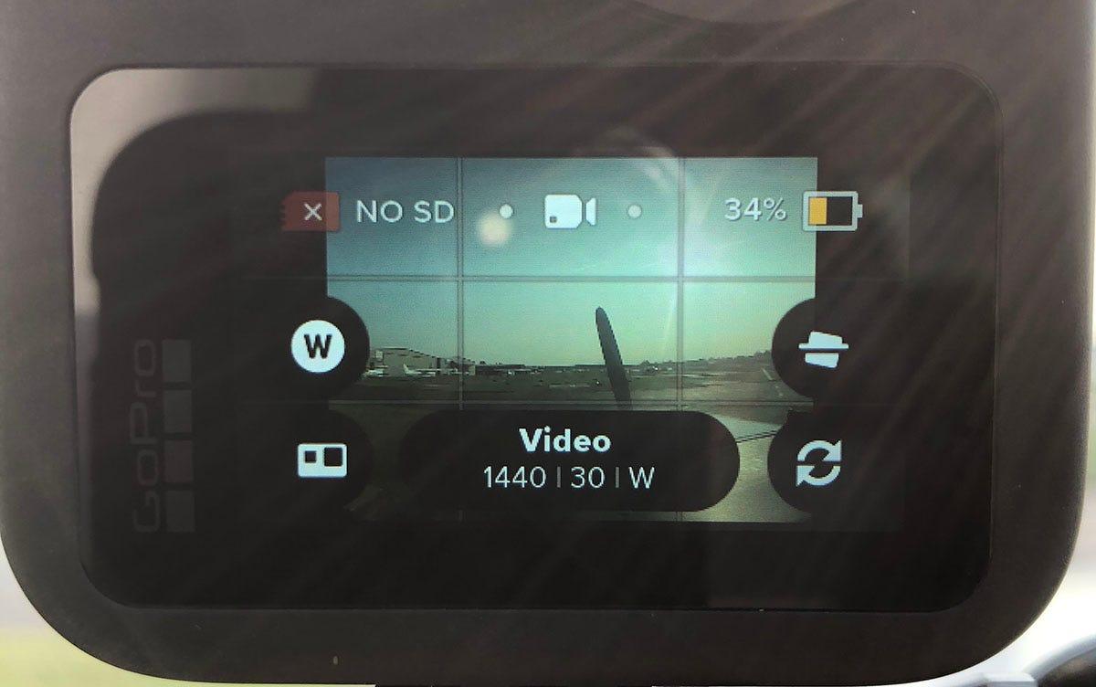 GoPro MAX settings screen 2