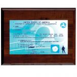 Classic Single-Sided Pilot License Plaque