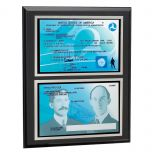 Deluxe Dual-Sided Pilot License Plaque