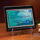 Pilot License Plaque Stand