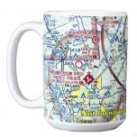 Custom U.S. Aeronautical Chart  Coffee Mug