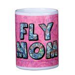 Custom U.S. Aeronautical Fly Mom Chart Mug