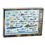 Genealogy WWI Aircraft 1,000 Piece Puzzle