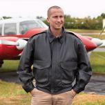 Super Soft Airline Captain's Leather Flight Jacket