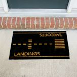 Takeoffs and Landings Doormat