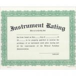 Instrument Rating Certificate
