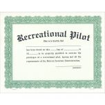 Recreational Pilot Certificate