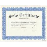 Solo Certificate