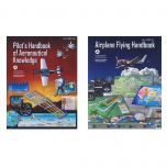 Sporty's Airplane Flying Handbook and Pilot's Handbook of Aeronautical Knowledge Combo (softcover)