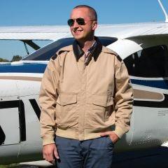 Cotton A-2 Flight Jacket