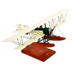 Boeing Model 1 B&W Mahogany Model