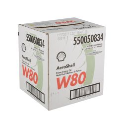 Aeroshell W80 Aviation Oil (case of 6)