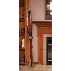 Classic Wooden Propeller w/Brass Edging (6')