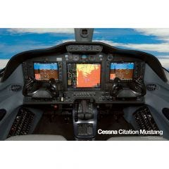Citation Mustang Cockpit Poster
