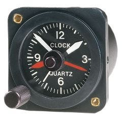 Quartz Aircraft Clock (12 Volt)