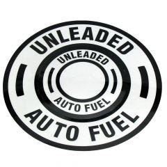 Unleaded Auto Fuel (Black/White)