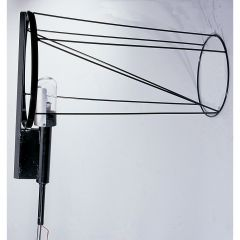 Lighted Extended Airport Windsock Frame