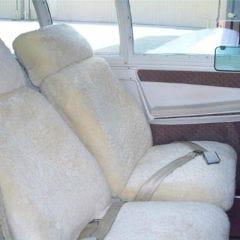 Sheepskin Headrest Covers (pair)