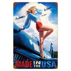 """Made In The USA (5264-MA) 18"""" x 12"""""""
