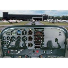 Cessna 172R Cockpit Poster