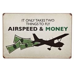 Airspeed and Money Sign