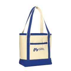 flyGIRL Canvas Boat Tote