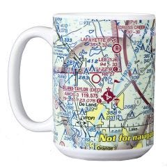 Custom U.S. Aeronautical Chart  Coffee Mug