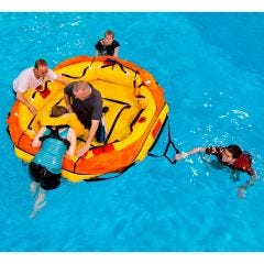 TSO'd Six Man Life Raft with Inflatable Floor