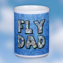 Custom U.S. Aeronautical Fly Dad Chart Mug