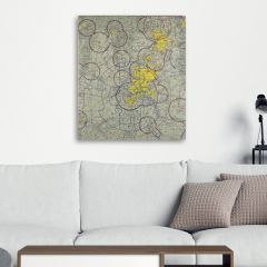 Custom VFR Terminal Area Chart Canvas Wall Art