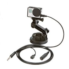 NFlightCam GoPro Hero3, Hero3+, and Hero4 Audio Cable