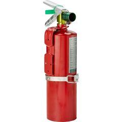 Large Halotron Fire Extinguisher
