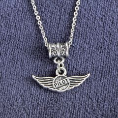Pilot Wings Necklace