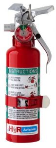 Halon Fire Extinguisher (2.5lb. gross weight, 2B:C rating)