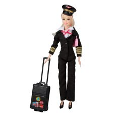 Commercial Pilot Doll