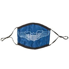 Pilot Wings Face Mask