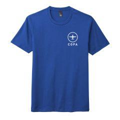 COPA Tri-blend T-Shirt (Deep Royal)