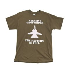 Negative Ghostrider, The Pattern is Full T-Shirt
