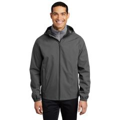 Embroidered Leading Edge Rain Jacket