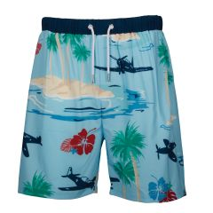 Warbird Aloha Swimming Trunks