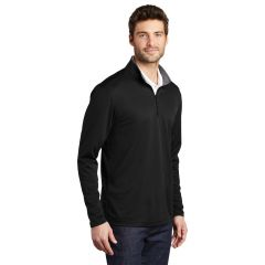 Streamlined Silk 1/4-Zip Pullover