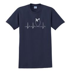 Aviation Heartbeat T-Shirt