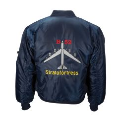 Embroidered B-52 Stratofortress MA-1 Flight Jacket