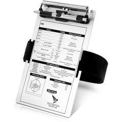 Aluminum VFR Kneeboard with Pen Holder