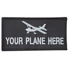 Embroidered Name Velcro Patch