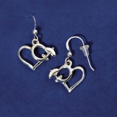 Sterling Silver High Wing Earrings