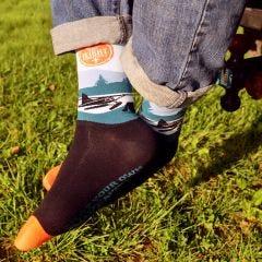 Flight Outfitters Seaplane Socks