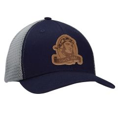 Sporty's Wright Bros. Collection Leather Patch Trucker Cap