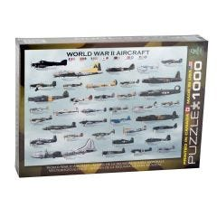 Genealogy WWII Aircraft 1,000 Piece Puzzle